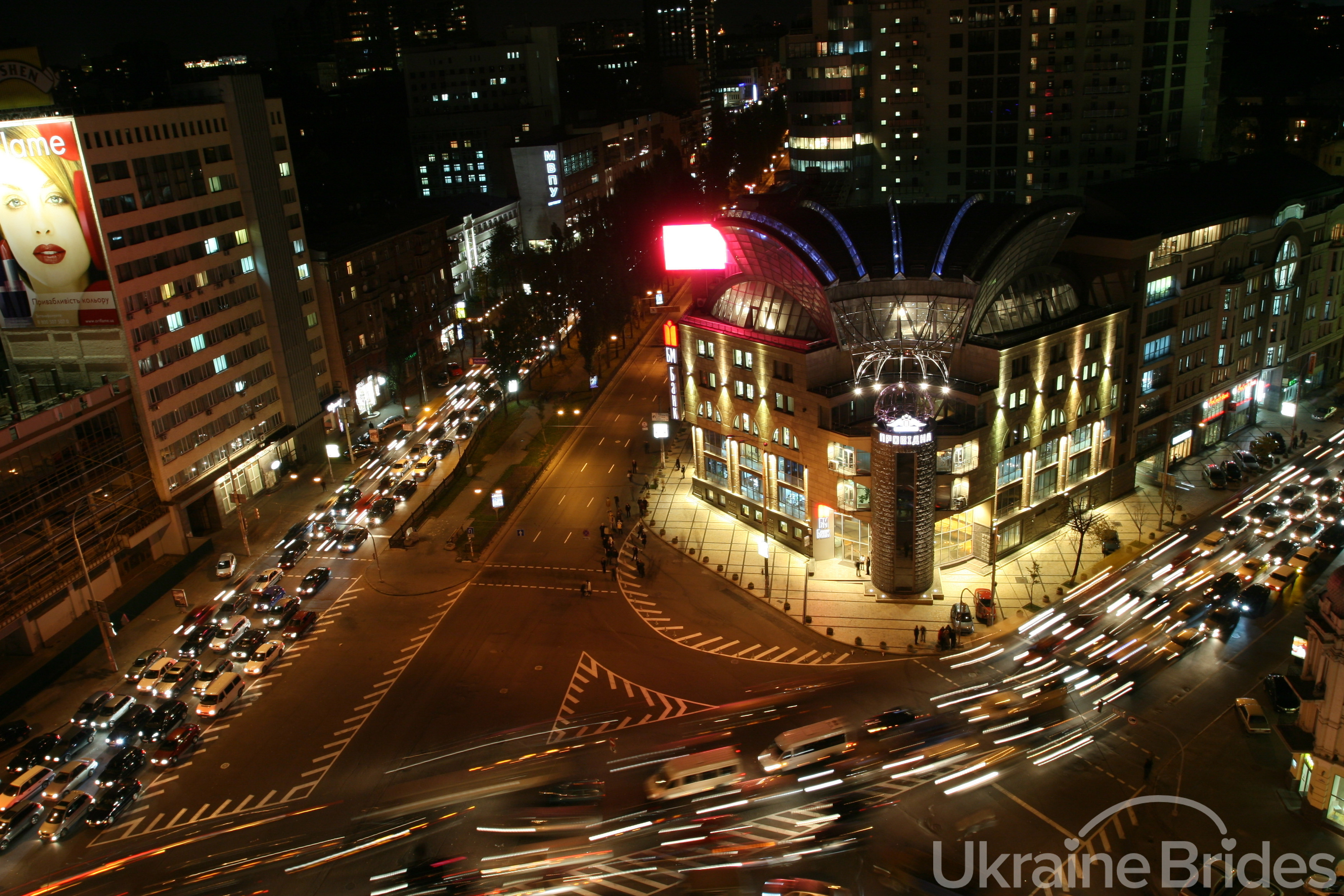 Aerial Traffic View
