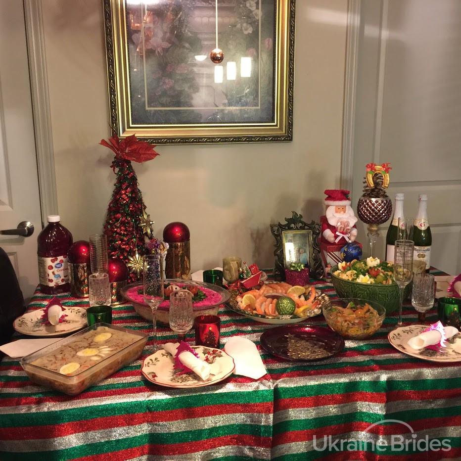 New Year Ukraine feast 1