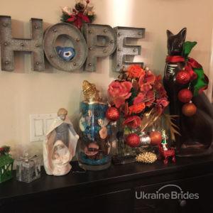 New Year Ukraine feast 2