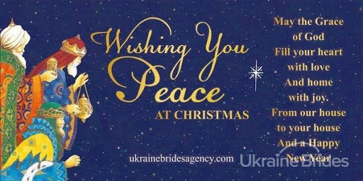 Wishing you peace at Christmas
